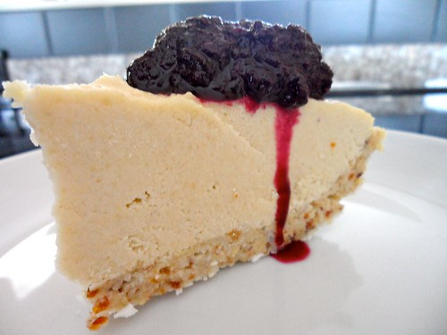 How to Make Dairy-Free Blueberry Cheesecake  6917534999_469206f92c