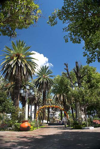 Plaza principal de Tarija