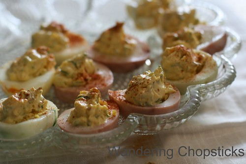 Deviled Eggs with Dill and Sour Cream 1