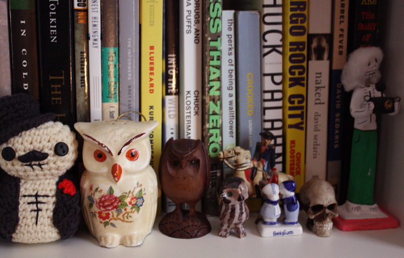 owl shelf home closet tool Jason Travis