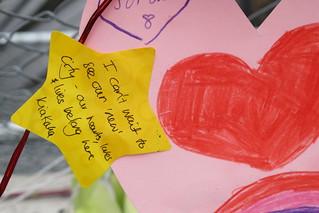 Avonside memorial message photo