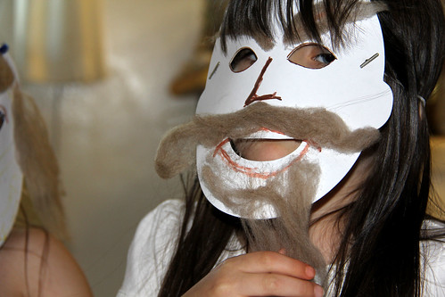 Haman Purim Mask