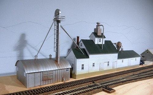 Agribusiness Industry On The 8th Sub Model Railroad