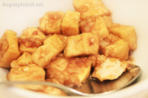 Tofu with Garlic Sauce P135