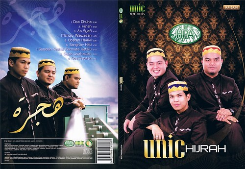 Cover Album Hijrah UNIC