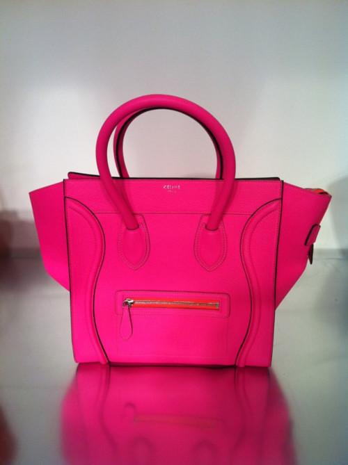 celine-pink-luggage-tote