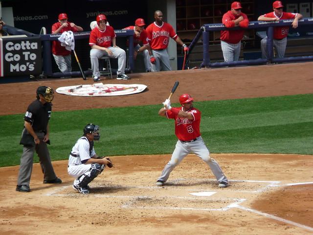 Albert Pujols at bat   Angels at Yankees, April 14, 2012 ...   640 x 480 jpeg 110kB