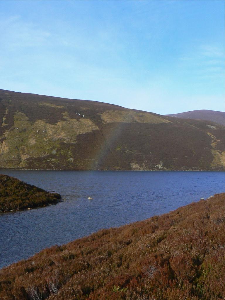 Rainbow over Loch Builg
