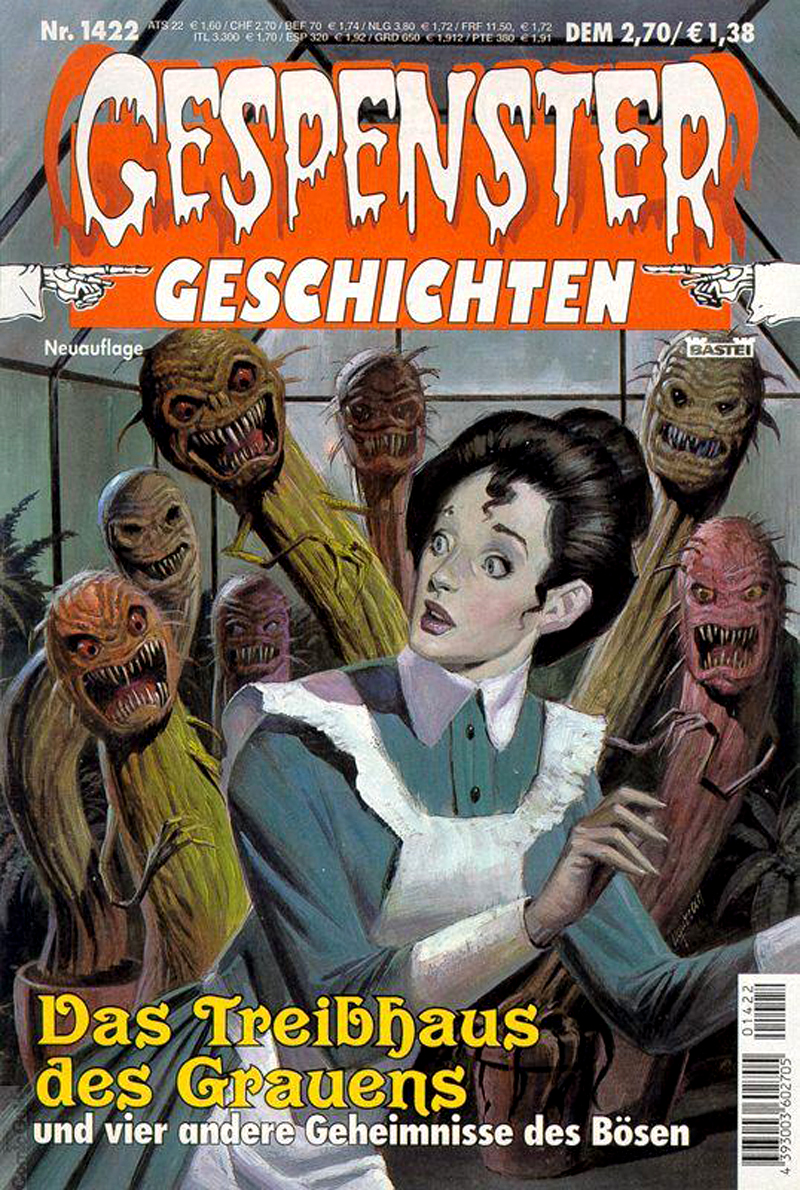 MONSTER BRAINS: Gespenster Geschichten (Ghost Stories)
