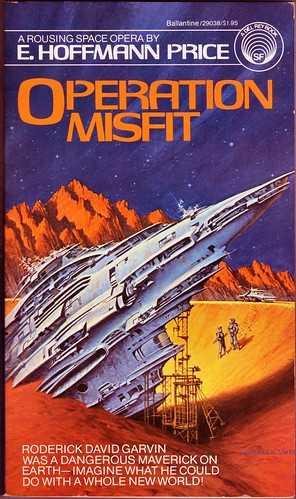 017 Operation Misfit 1980-08 by E. Hoffmann Price Front Cover by Darrell K. Sweet