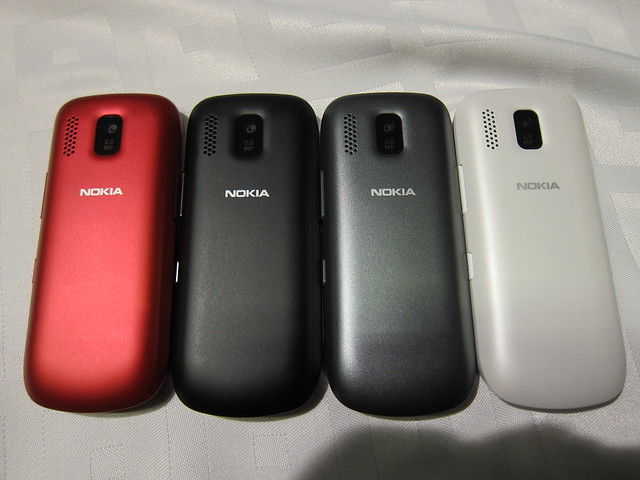 Colors Available For The Nokia Asha 202/203