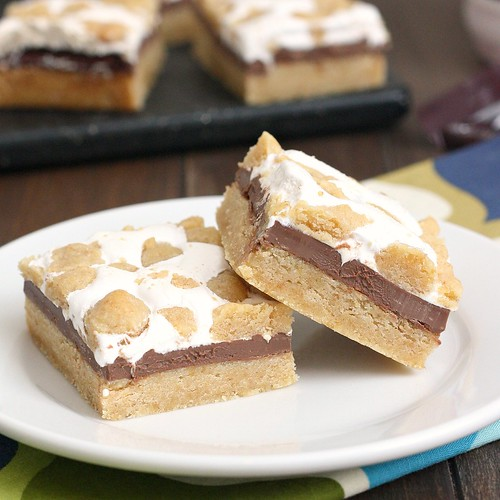 Super Simple S'mores Bars