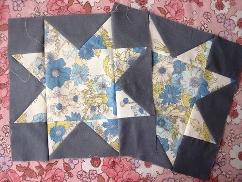 11-12/72 - Blue Floral Blocks