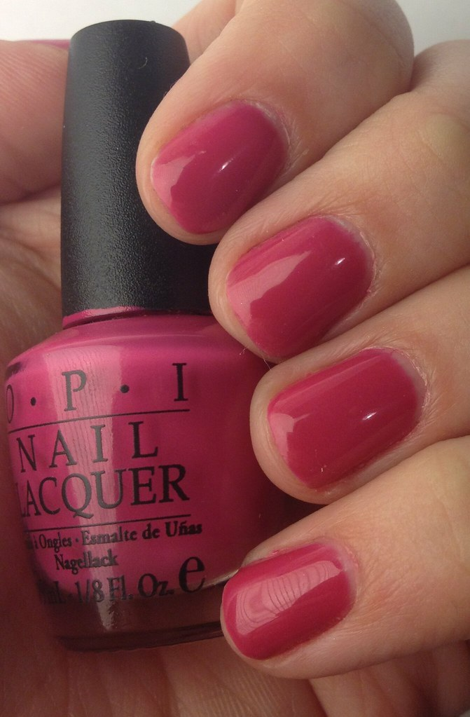 Alli Mcbally My Opi Gel Color Experience