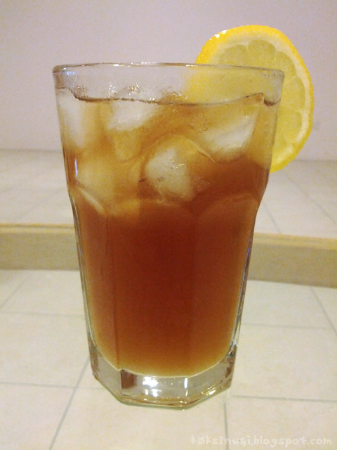 Homemade Long Island Iced Tea