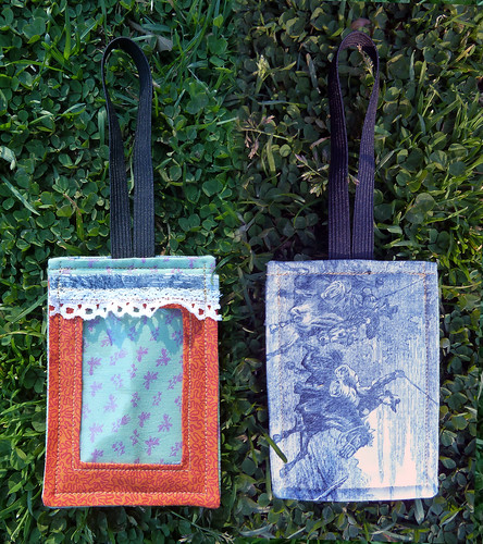Luggage Tag, front and back