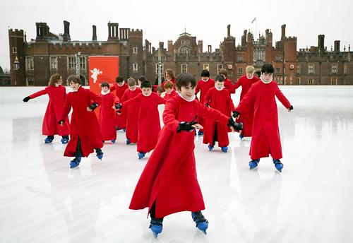 Hampton Court Palace Chapel Royal Choir Boys