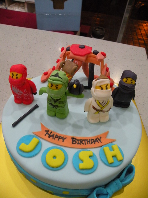 BCK Ninjago Cake