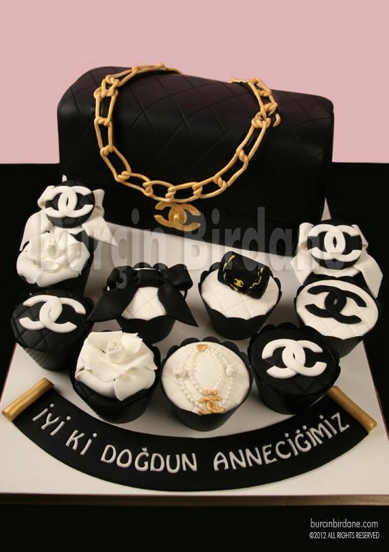 Chanel Canta Pasta Cupcake