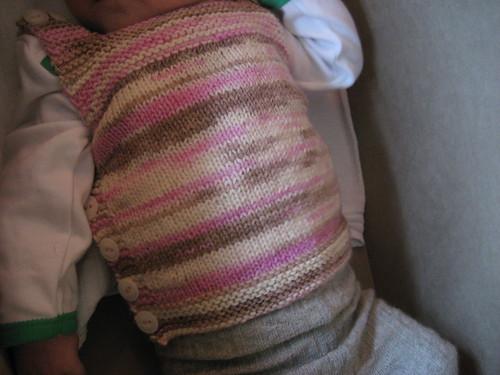 Scrummy baby tummy