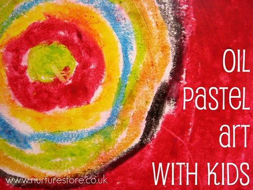 oil pastels how to use
