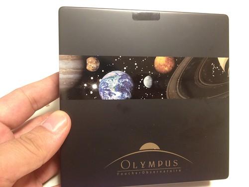 OLYMPUS オリンポス パッケージ缶