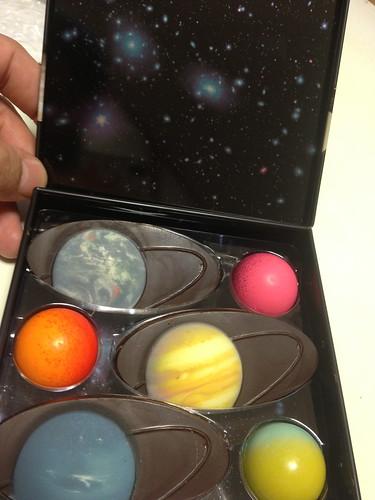 フーシェ Foucher 惑星チョコレート詰め合わせ