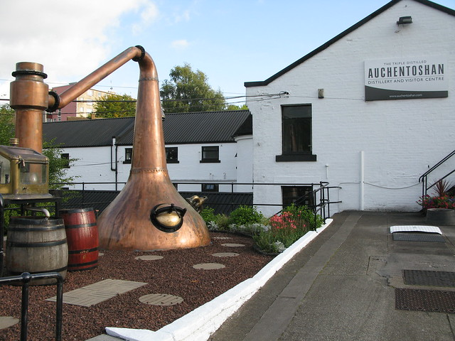 Auchentoshan distillery - still entrance