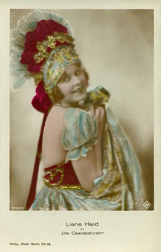 Liane Haid in Die Csardasfürstin (1927)