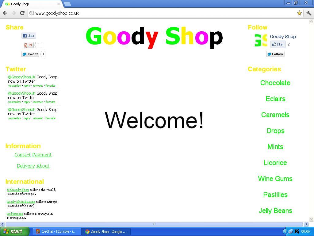 goody shop co uk
