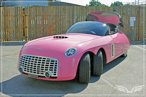 The Establishing Shot: Ford Centenary Tour - Lady Penelope's six-wheel Ford FAB1 from Thunderbirds 2004 at Elstree Studios by Craig Grobler