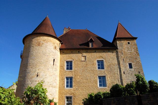 Château Pécauld, замки Франш-Конте, достопримечательности Франции