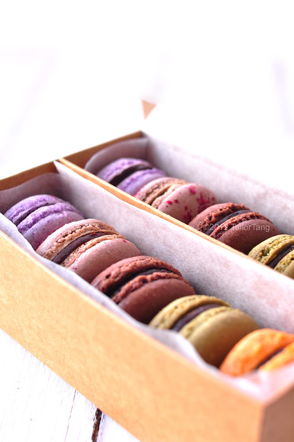 homemade macaron packaging | ok, seriously, this would be ...