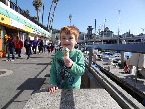 Henry with Ice Cream Cone, a Kite Festival Tradition