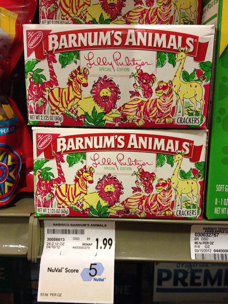 Lilly Pulitzer Barnum's Animal Crackers