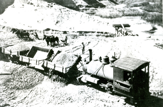 Mackay, Idaho Donkey train