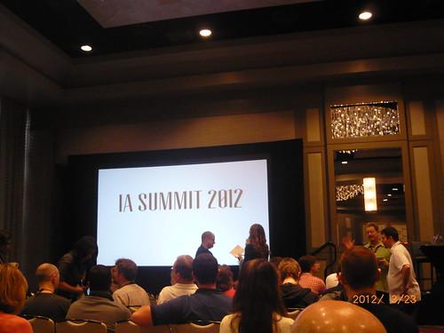 IA Summit 2012 -1