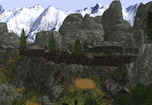 Ivar's Landfall - Pueblo entre las montañas by Cherokeeh Asteria