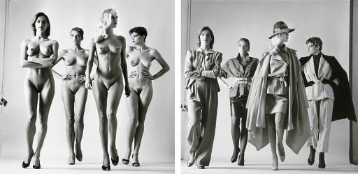 helmut-newton-sie-kommen-naked-and-dressed