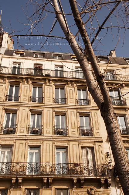 Paris buildings...