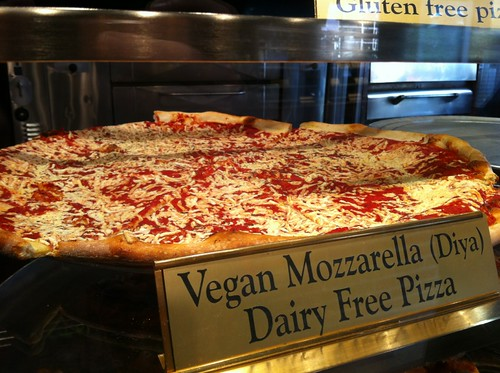 NY Pizza Suprema is now selling vegan slices
