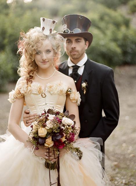 Thrifty Girl Weddings  Theme idea  Steampunk wedding 02e4b8d8bac