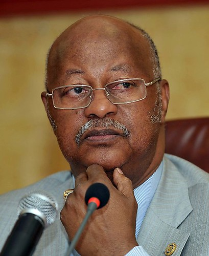 Prime Minister of Guinea-Bissau Carlos Gomes Junior speaking in Dakar. Soldiers arrested the presidential front-runner Carlos Gomes Junior after staging an apparent coup in this West African state. by Pan-African News Wire File Photos
