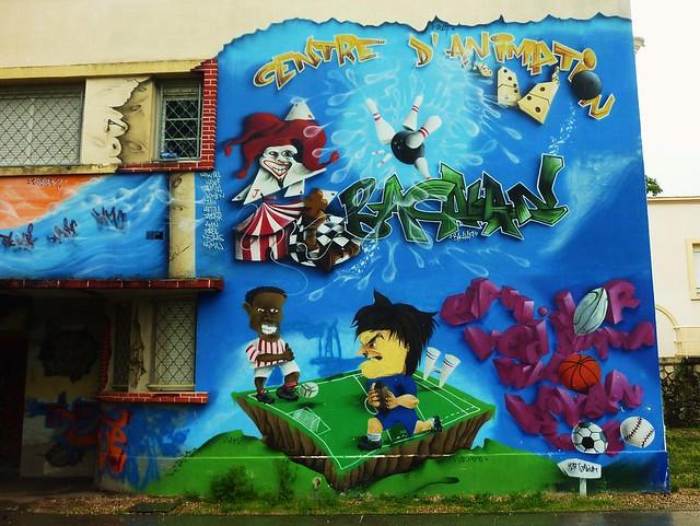 graffiti bordeaux bacalan explore thierry llansades 39 photo flickr photo sharing. Black Bedroom Furniture Sets. Home Design Ideas