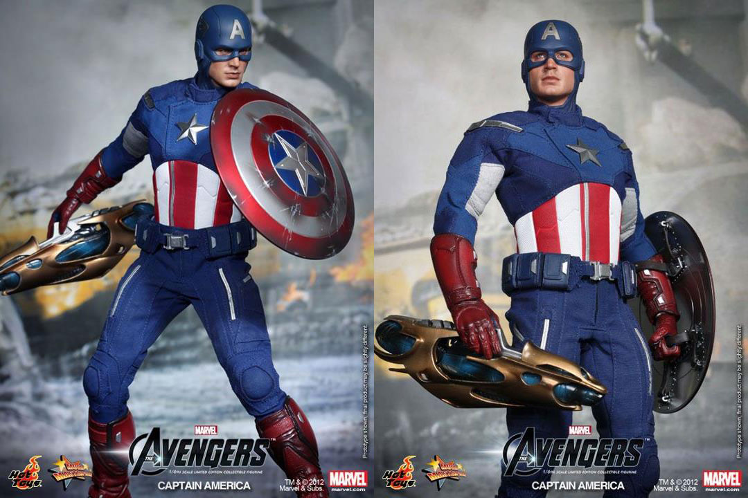 Avengers Assemble: Captain America in 1/6 by Hot Toys