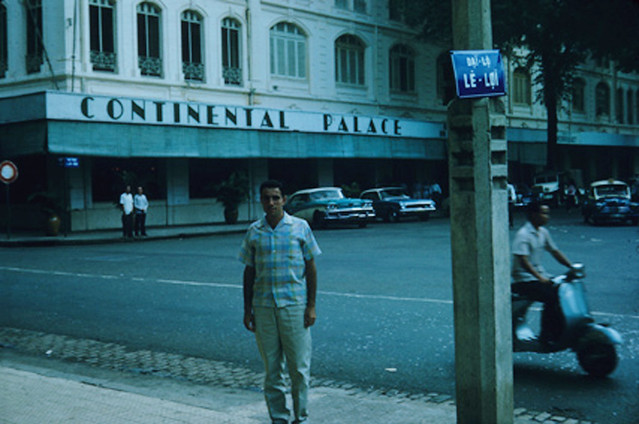 Tony LaRusso, Continental Hotel, Saigon, August 1963