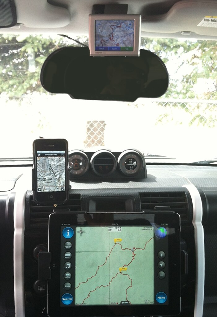 FJ Cruiser Navigation Options