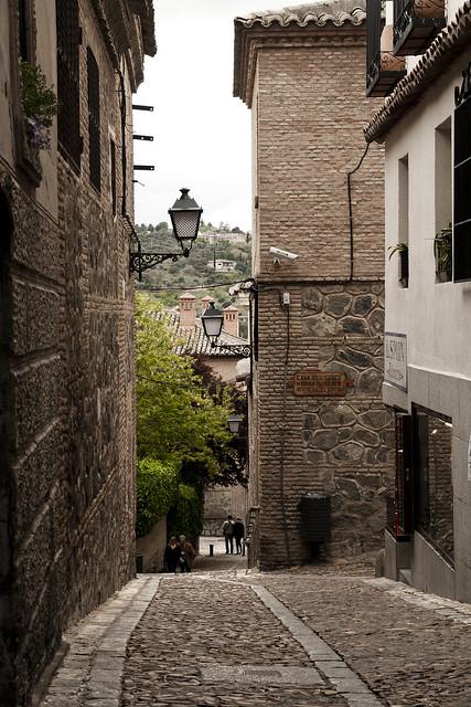 calles de toledo espana: