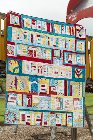 Word Quilt by Peace circle - Do. Good Stitches