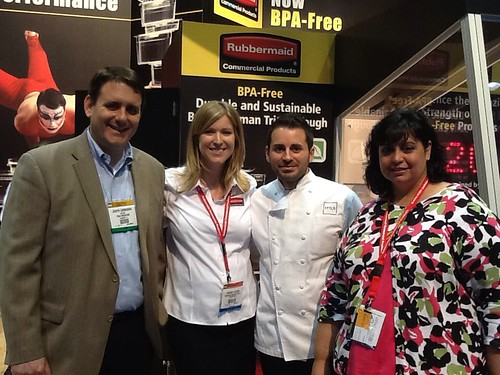 Joseph Carbonara stops by RCP's booth at NRA